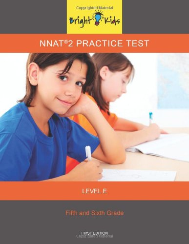 9781935858409: NNAT 2 Level E Practice Test (5th and 6th Grade) (Bright Kids Series)