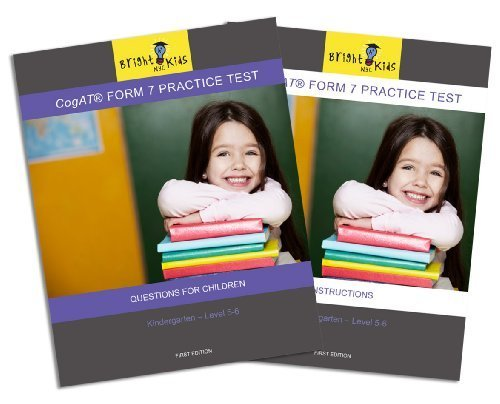 9781935858447: CogAT Form 7 Practice Test - Kindergarten (Level 5-6)