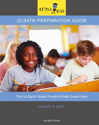 9781935858461: OLSAT Preparation Guide (4th to 9th Grade Entry)