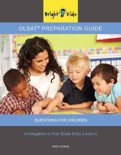 9781935858683: OLSAT Preparation Guide II Level A (K and 1st Grade Entry)