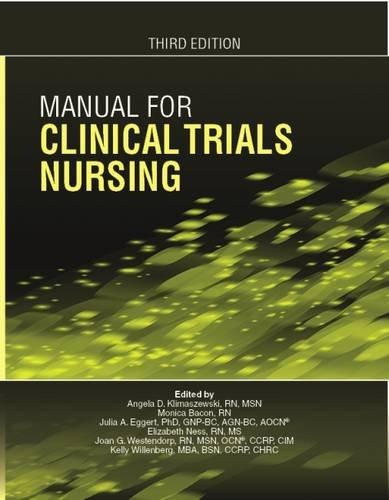 9781935864370: Manual for Clinical Trials Nursing (Third Edition)