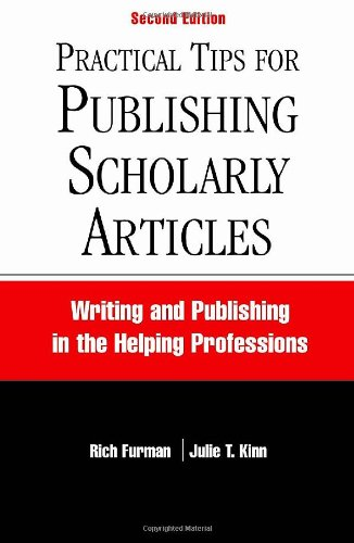 9781935871101: Practical Tips for Publishing Scholarly Articles: Writing and Publishing in the Helping Professions