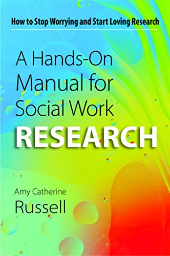 9781935871729: A Hands-On Manual for Social Work Research