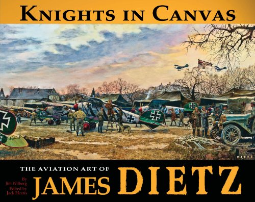 9781935881049: Knights in Canvas: The Aviation Art of James Dietz