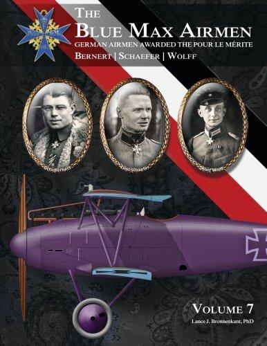 9781935881377: The Blue Max Airmen: German Airmen Awarded the Pour Le Merite (Volume 7)