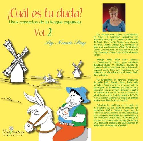 Cuál es tu duda? Vol. 2 (Spanish: Luz Nereida Pérez