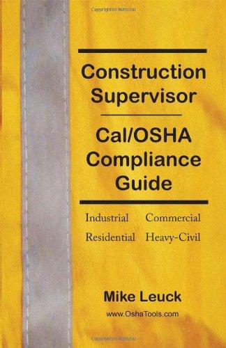 Construction Supervisor Cal/OSHA Compliance
