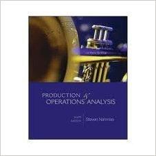 Productions & Operations Analysis: Steven Nahmias