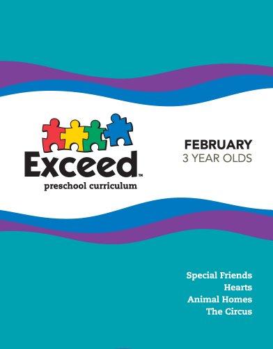 9781935957171: Exceed Preschool Curriculum February 3 Year Old