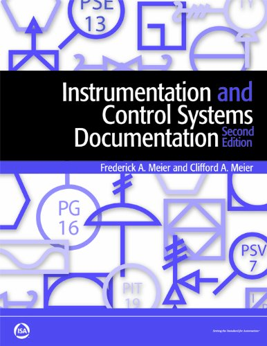 Instrumentation And Control Systems Documentation: Meier, Clifford A.;