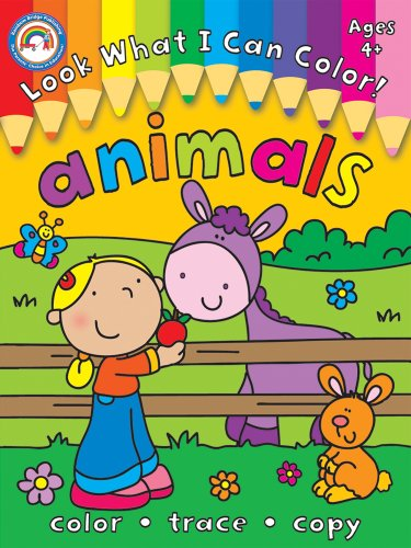 9781936022205: Look What I Can Color!, Grades PK - 1: Animals