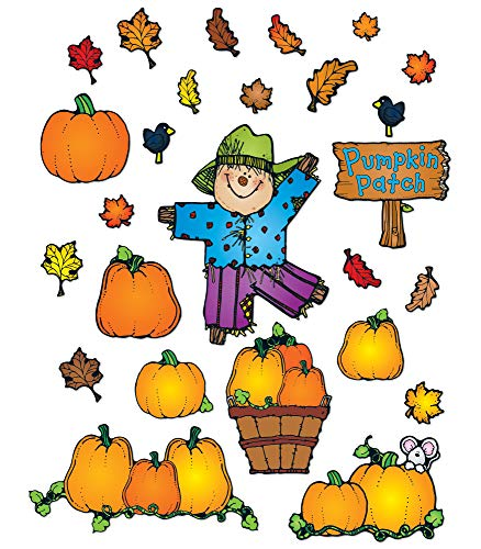 9781936022472: Pumpkin Patch Bulletin Board Set