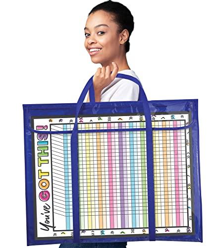 9781936022939: Deluxe Bulletin Board Storage Pocket Chart Storage