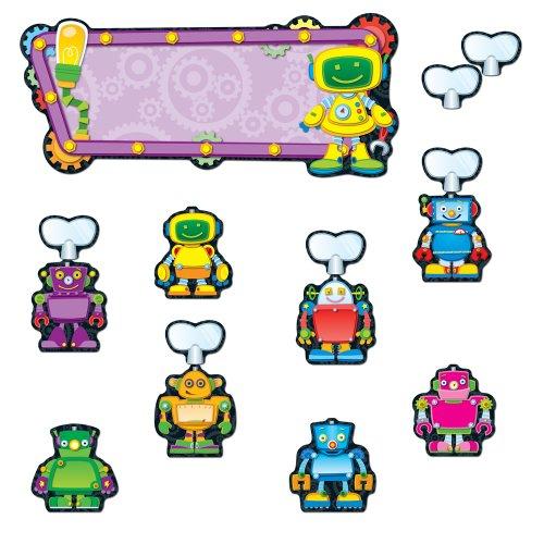 9781936023042: Robots Job Assignment Bulletin Board Set