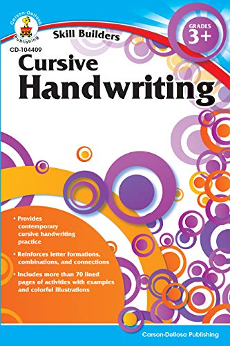 9781936023165: Cursive Handwriting, Grades 3 - 5 (Skill Builders)
