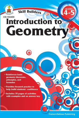 9781936023240: Introduction to Geometry, Grades 4 - 5 (Skill Builders)