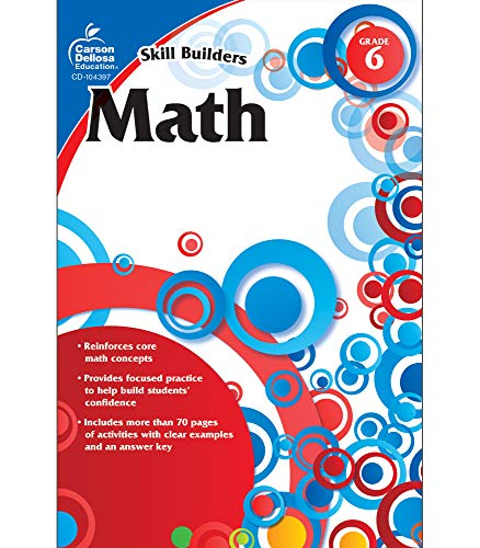 9781936023288: Math, Grade 6 (Skill Builders)