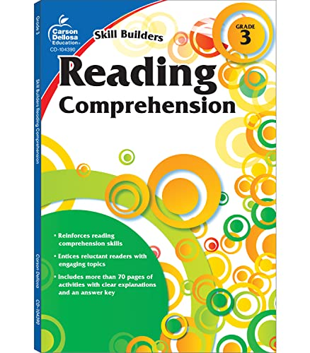 9781936023318: Reading Comprehension, Grade 3 (Skill Builders (Carson-Dellosa))