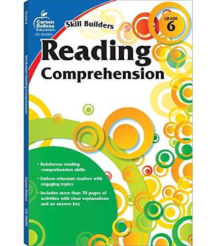 9781936023349: Reading Comprehension, Grade 6 (Skill Builders)