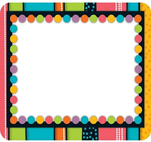 Stylin' Stripes Name Tags 9781936023936 These convenient, self-adhesive name tags are ideal for labeling, reminders, calendar and homework notes, and more! Each pack features 4