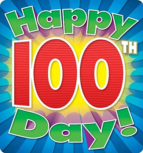9781936023981: Happy 100th Day Braggin' Badges