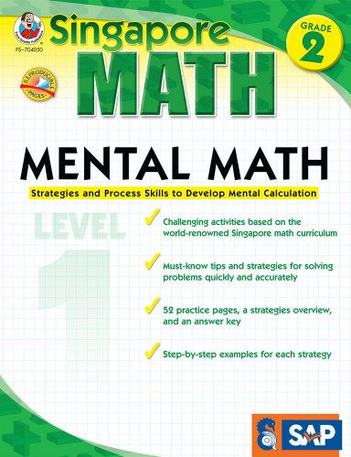 9781936024087: Mental Math, Grade 2/Level 1: Strategies and Process Skills to Develop Mental Calculation
