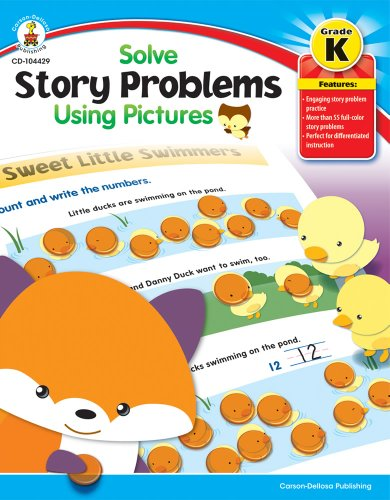 9781936024148: Solve Story Problems Using Pictures, Grade K