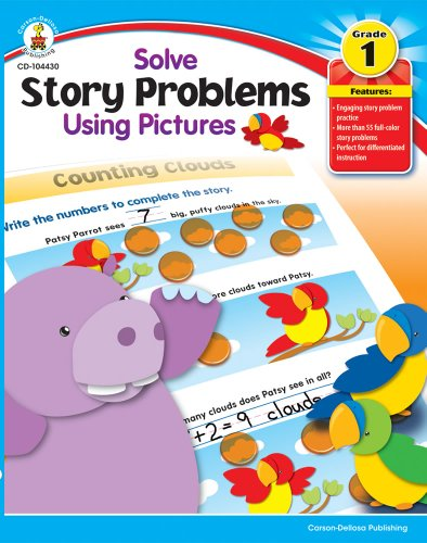 9781936024155: Solve Story Problems Using Pictures, Grade 1