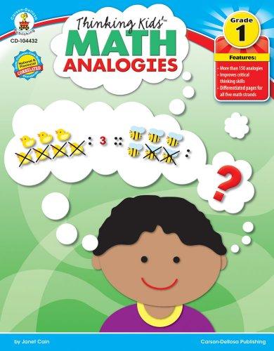 Thinking Kids�� Math Analogies, Grade 1: Cain, Janet