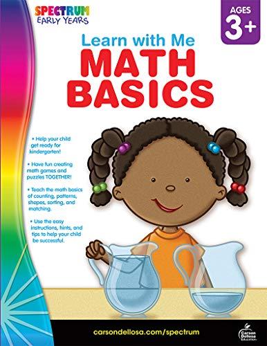 Math Basics, Grades Preschool - K (Learn with Me): Spectrum