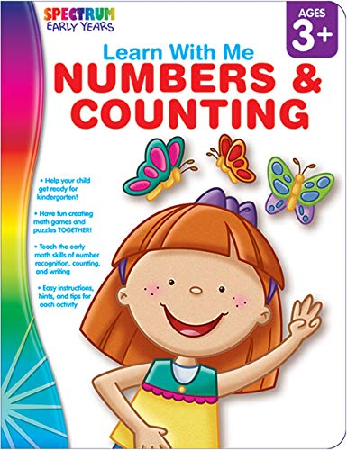9781936024759: Numbers & Counting, Grades Preschool - K (Learn with Me)