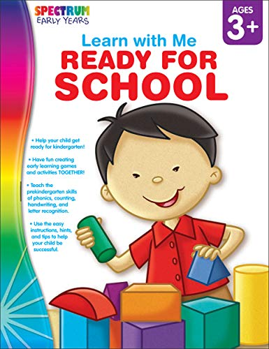 9781936024797: Ready for School, Ages 3-6 (Spectrum Learn with Me)