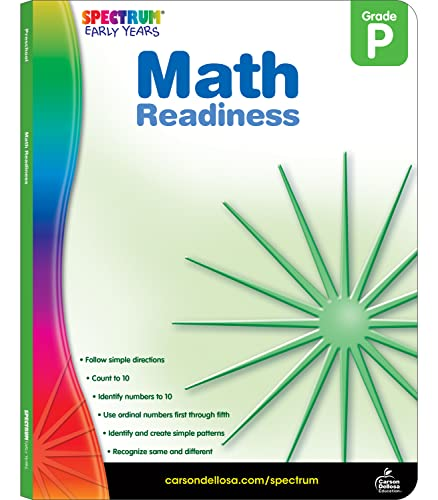 9781936024964: Math Readiness, Grade Pk (Spectrum Early Years)