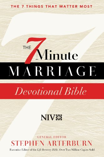 7-Minute Marriage Devotional Bible, The: Interactive Couples' Devotions that Change Everything...
