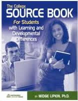 9781936035014: The College Sourcebook for Students with Learning & Developmental Differences