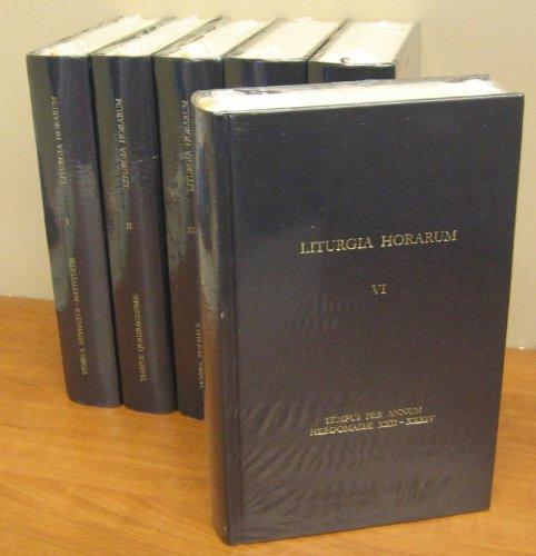9781936045266: Liturgia Horarum