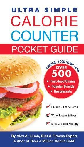 9781936061518: Ultra Simple Calorie Counter Pocket Guide
