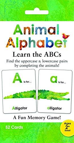 9781936061914: Animal Alphabet Memory Game