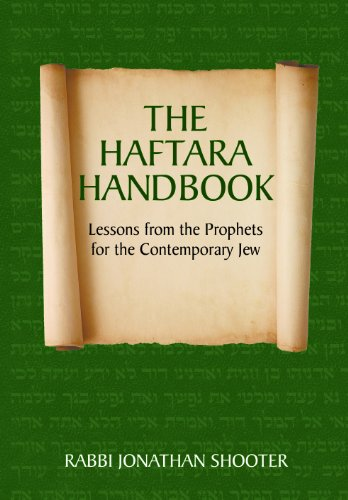 9781936068050: Haftara Handbook: Lessons from the Prophets for the Contemporary Jew