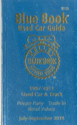 9781936078189: Kelley Blue Book Used Car Guide July-September 2012