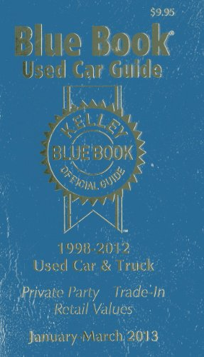 Kelley Blue Book Used Car Guide: January-March 2013: 21 (Kelley Blue Book Used Car Guide Consumer ...
