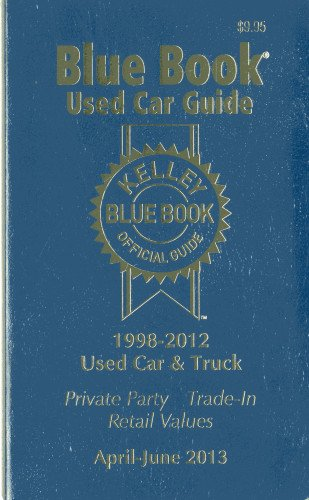 9781936078271: Kelley Blue Book Used Car Guide (Kelley Blue Book Used Car Guide Consumer Edition)