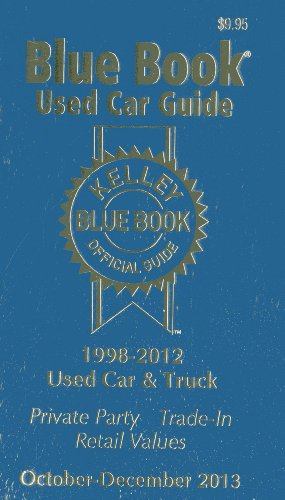 9781936078295: Kelley Blue Book Used Car Guide