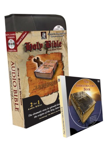 9781936081318: KJV Scourby Special Edition-Two Complete Holy Bible King James Version Audio Bibles by Alexander Scourby & Eric Martin-Audiobook-60 CD-2 MP3 CD ... One Bible-Abraham-Jesus-Genesis-Revelations
