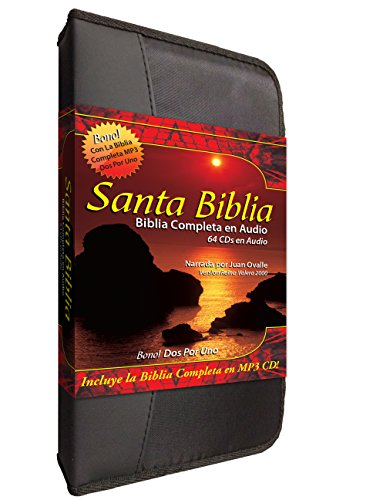 9781936081431: Santa Biblia Complete Reina Valera en 64 Audio CD Plus una Reina Valera 2000 Completa-Completa en MP3 Discs-Two Complete Biblias Español Reina Valera ... para cada disco (Spanish Edition)