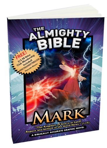 9781936081691: The Almighty Bible/Graphic Bible Book of mark Gospel of Mark Biblically Accurate Graphic Bible Paperback