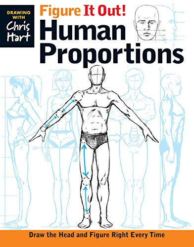 9781936096732: Figure It Out! Human Proportions: Draw the Head and Figure Right Every Time (Christopher Hart Figure It Out!)