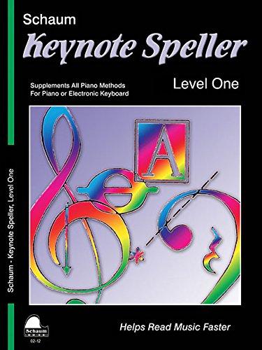 9781936098033: Keynote Speller Level 1 (Schaum Publications Keynote Speller)