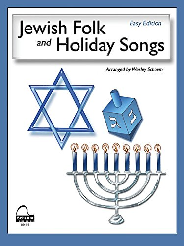 9781936098040: Jewish Folk & Holiday Songs: NFMC 2016-2020 Piano Hymn Event Class I Selection (Schaum Publications)