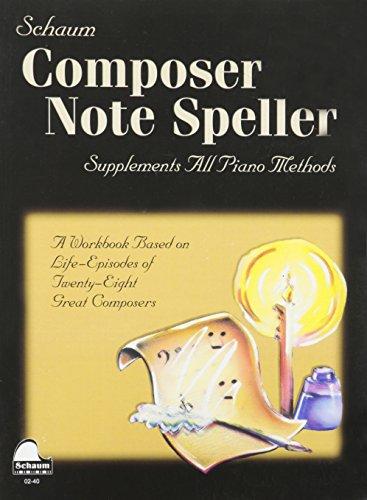 9781936098088: Composer Note Speller: Level 1 (Schaum Publications)